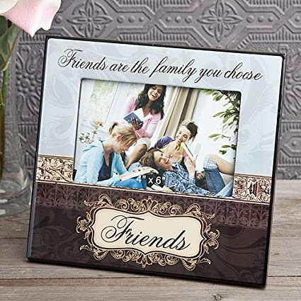 Amazoncom Friendship Photo Frame Friends Are The Family You