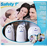 Safety 1st Clear Connection Baby Monitor with 2 Receivers