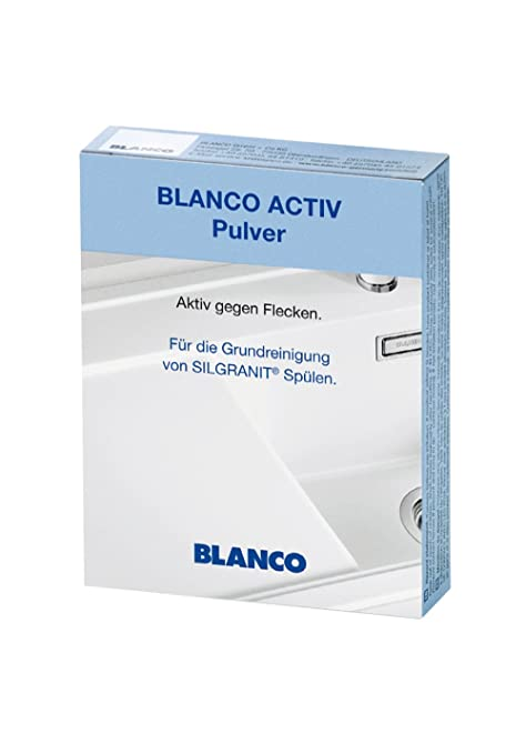 Blanco Activ pulver| for Deep Cleaning of Silgranit Sink | 3 Pack ...