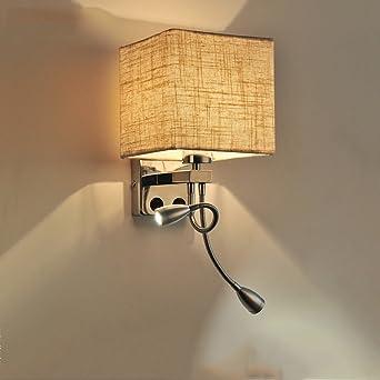 QKRu0026Exquisite Wandleuchte, Wand Treppe Wohnzimmer Schlafzimmer Balkon Aisle  Nachttischlampe LED Moderne Minimalist Kreative Wandlampe (