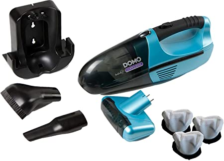 Domo – Aspiradora de mano con cepillo giratorio contra el pelo de animal con filtro de repuesto, do211s: Amazon.es: Hogar