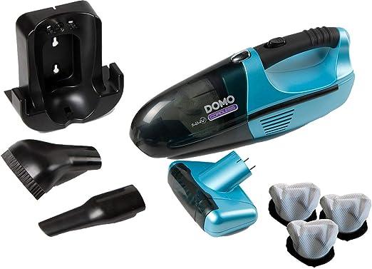 Domo – Aspiradora de mano con cepillo giratorio contra el pelo de ...