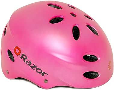 Razor V-17 Youth Multi-Sport Helmet, Satin Pink