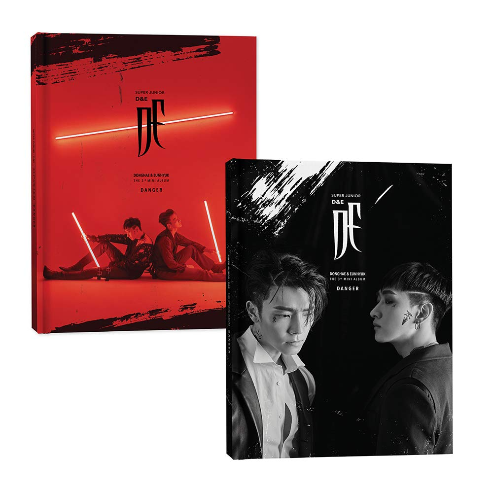 Super Junior D&E - Danger (3rd Mini Album) CD+Photobook+Folded Poster+Double Side Extra Photocards Set
