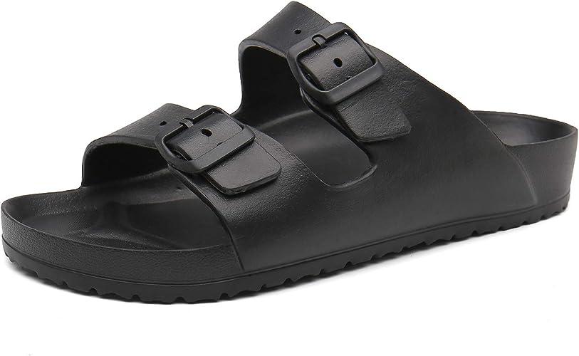 Amazon.com: SAGUARO - Sandalias de goma EVA con doble ...