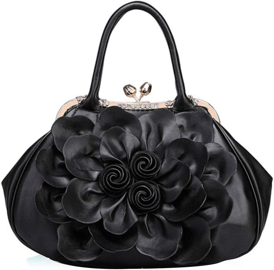 XDDQ Dames Mode Sac à Main Femme Fleur Femme Sac Portable, Sac Lady Casual Sac Sac à Main Mode C