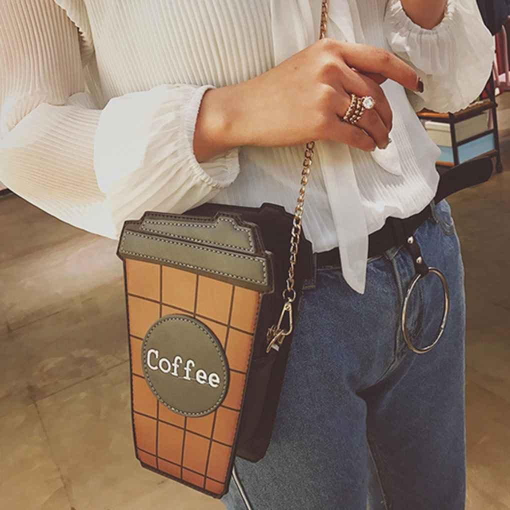 Miaomiaogo Cute Cupcake Cake Shape Womens Shoulder Bags Colorful PU Leather Leather Messenger Bags