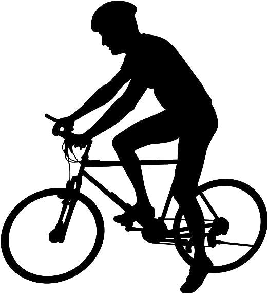 Bicicleta Pared Adhesivo 4 – adhesivo mural de pegatinas y para ...