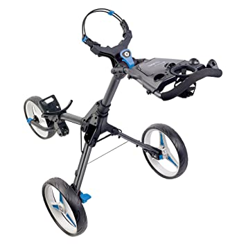 Motocaddy Cube 3 Push Golf Trolley (Graphite With Blue Trim): Amazon
