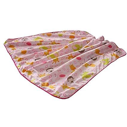 color: azul//azul manta veraniega manta Manta infantil ByBoom/® 70 x 100cm; 100/% algod/ón ecol/ógico manta de beb/é