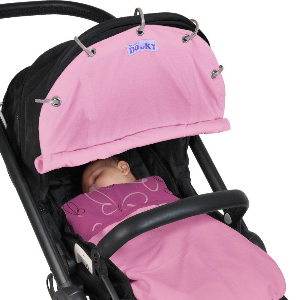 Dooky Pram Shade - Baby Pink