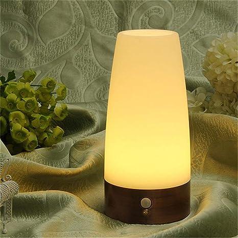 Asonter - Lámpara de mesa (LED, inalámbrica, para el cuerpo ...