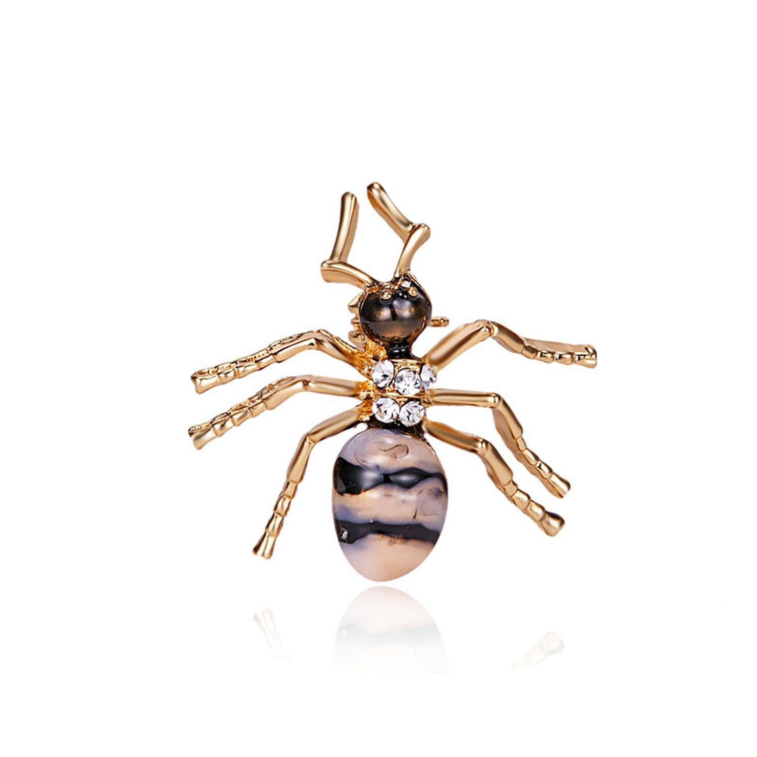 Cute Yellow Insect Bee Brooch For Women Ant Brooch Clothes Enamel Brooches Pin Jewelry Gifts,Ant 1