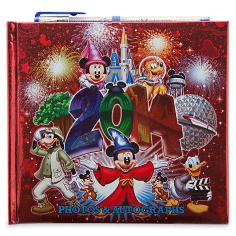 Walt Disney World 2014 Deluxe Autograph & Photo (4x6) Album Book w/Gel Pen - NEW