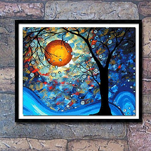 Count Stamped Cross Stitch (Cross stitch, Van Gogh, the world tree, come true, C0009)