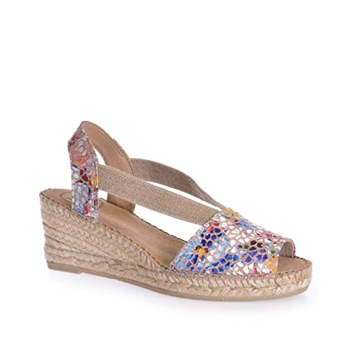 1d38c2be TEIDE-PM - Alpargata para Mujer de TONI PONS Hecha en Piel: Amazon.es:  Zapatos y complementos