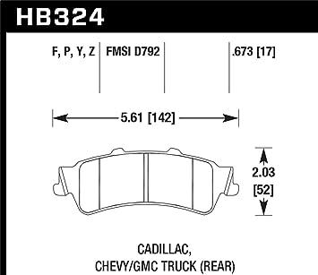 Hawk Performance HB324P.673 SuperDuty Brake Pad