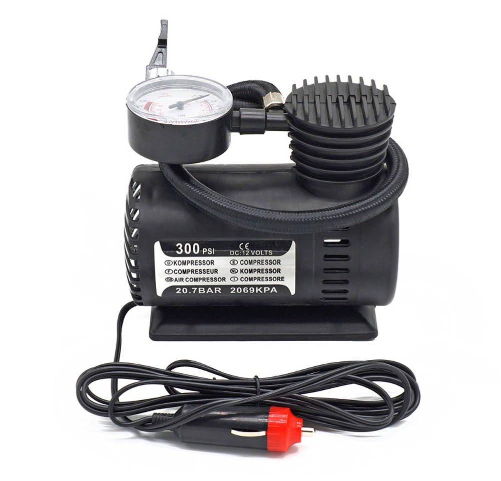 17/bar Dunlop Minicompresor de 12/V Compresor mini bomba de aire comprimido para camping