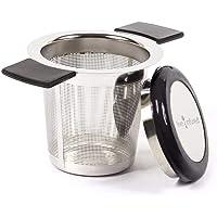 1PC Premium Tea Infuser Brew-En-Acero Inoxidable con Mangos