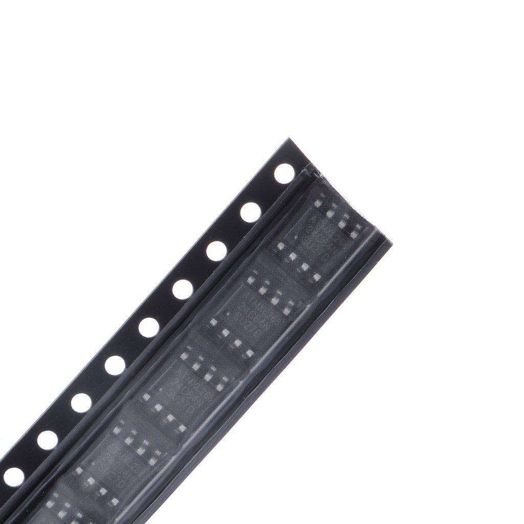 BIlinli 60 Unids 6 Clases 24C02 24C04 24C08 24C16 24C32 24C64 IC IC SOP de SMD Kit