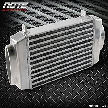 Aluminum Bolt-On Top Mount Supercharge Intercooler For MINI COOPER S R53 02-06 Silver