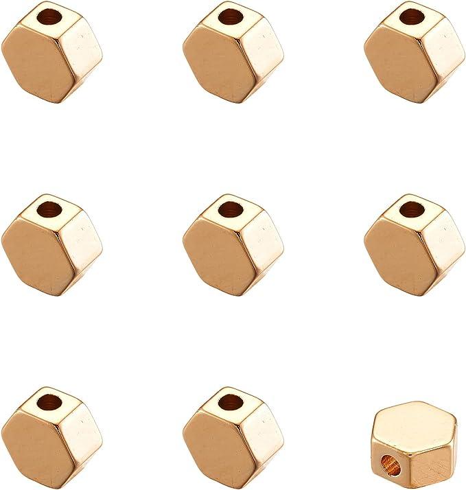 round spacer beads-geometrical beads-flat round bead-brass round bead 5mm
