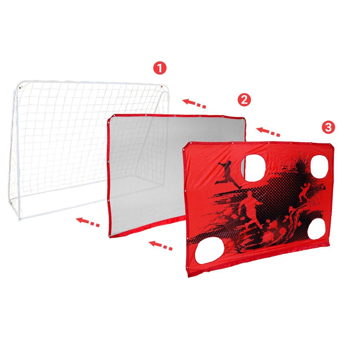 Charles Bentley 3 en 1 Objetivo Fútbol Disparar Meta & de la ...
