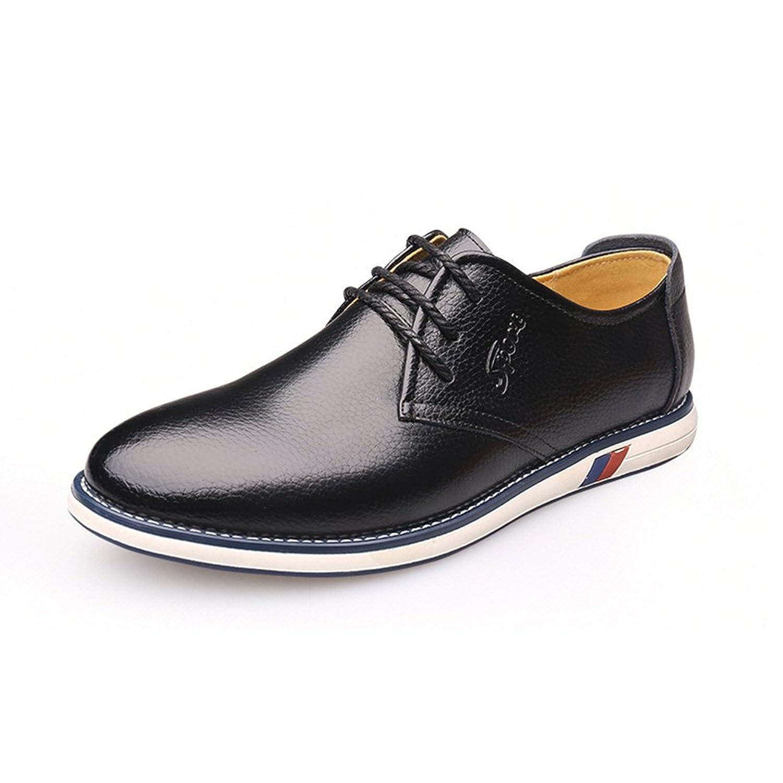 Modello Celestino - 41 EU - Cuero Italiano Hecho A Mano Hombre Piel Vistoso Zapatos Vestir Oxfords - Cuero Cuero Suave - Encaje qJwN1