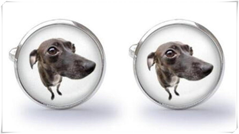 Perro gemelos gemelos de Galgo Greyhound perro regalo de bodas ...
