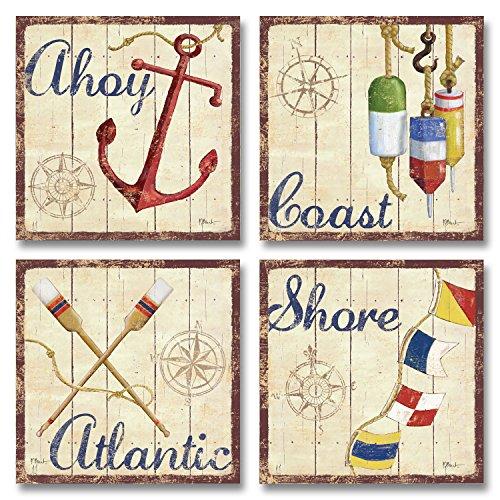 Wallsthatspeak 4 Nautical Themed Sailing Art Prints