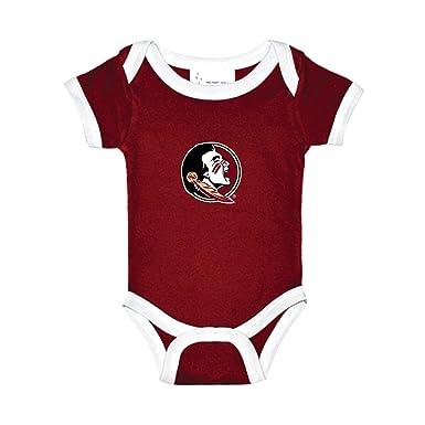 0e9bdba54dc3 Florida State Seminoles Two Tone NCAA College Newborn Infant Baby Creeper  (0-3 Months