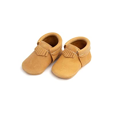 0ed0b04fd3ca Freshly Picked - Soft Sole Leather City Moccasins - Baby Girl Boy Shoes -  Size 1