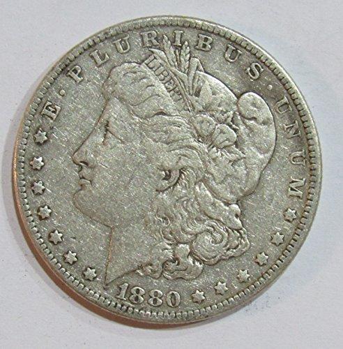 1880 O Morgan Silver Dollar $1 Very Good (1880 O Morgan Silver Dollar Coins)