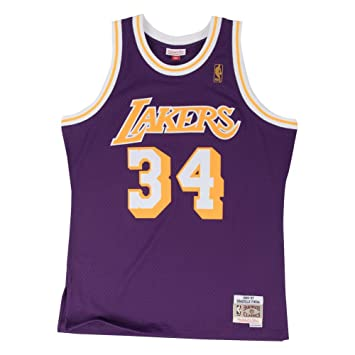 Mitchell & Ness Shaq O Neal # 34 los Angeles Lakers 1996 – 97 Swingman