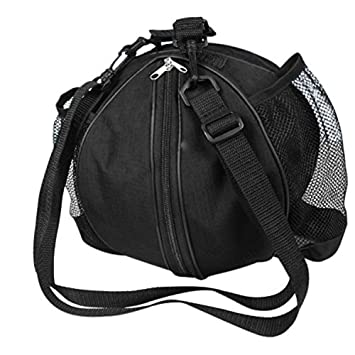 96ad99e1db BXT Professional Basketball Carrying Bag with Side Water-bottle Pouch  Sports GYM Equipment Shoulder Messenger