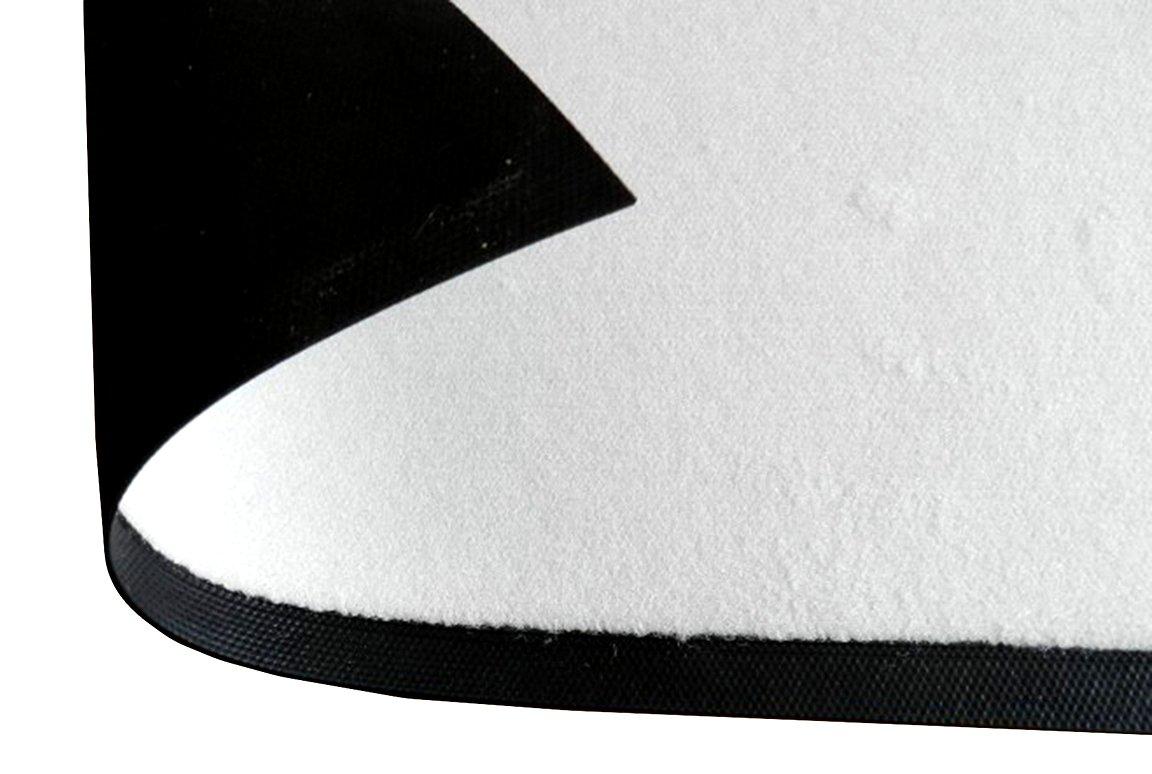 Printalio Wunschtext - Walk Walk Walk of Fame - Schmutzmatte Bodenvorleger Fußmatte Türmatte Abtreter Abstreifer gummierter Rand Rutschfest Waschbar individuell   145 cm x 85 cm 6eb60e