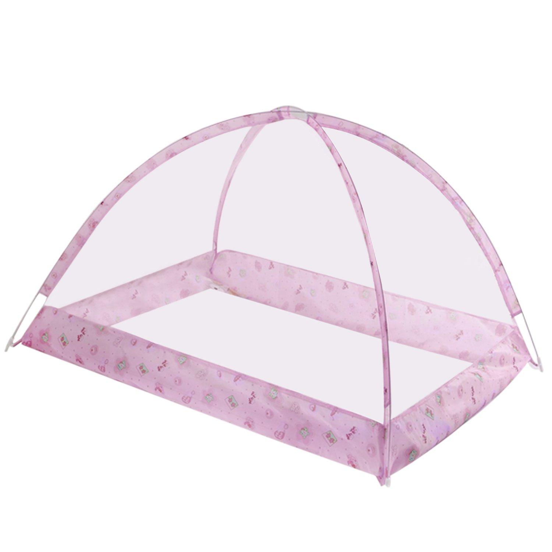 Baby Bed Mosquito Net Portable Folding Summer Sleeping Nursery Bedroom Mosquito Netting Crib Tent for Toddler Children Kids Blue Migavan
