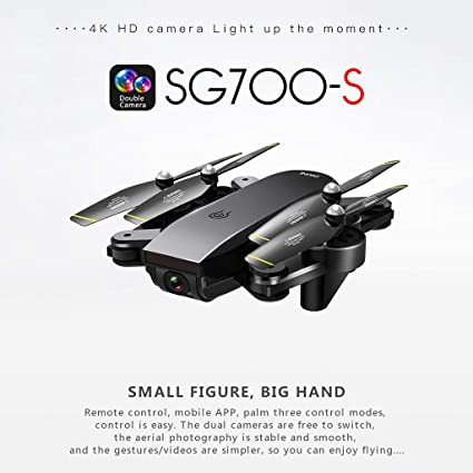Amazon com : Jialili SG700-S 2 4Ghz 4CH Wide-Angle WiFi 4K HD Dual