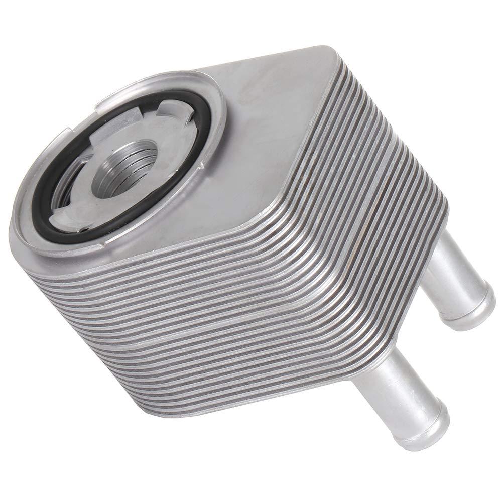 TUPARTS Aluminum Engine Oil Cooler Fit for 2002-2009 Land Rover LR3 Range Rover Sport