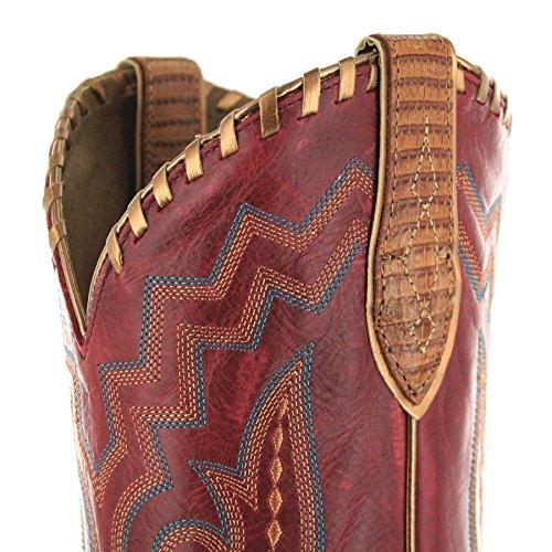 ROUGE Boots FB Cowboystiefel für Fashion EXOTICS OF Reece Damen 21672 SHADES aTvTw