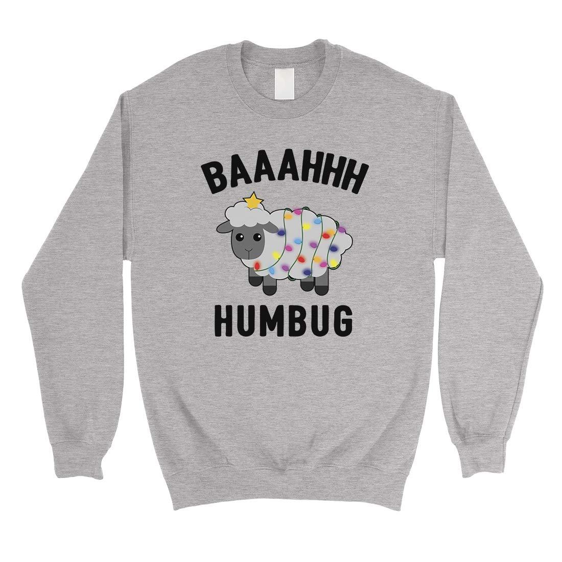 365 Printing Baaahhh Humbug Funny Christmas Unisex Sweashirt Gift Idea