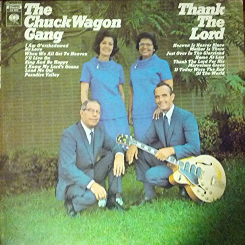 Price comparison product image CHUCK WAGON GANG - thank the lord COLUMBIA 9993 (LP vinyl record)