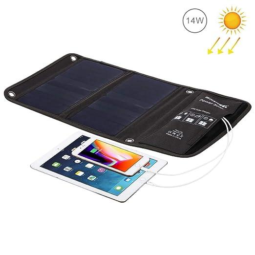 Neoron Cargador Plegable del Panel Solar con Puertos USB ...