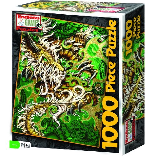 Rod Fuchs Dragon Dragon Dragon 1000pc Jigsaw Puzzle 0968c3