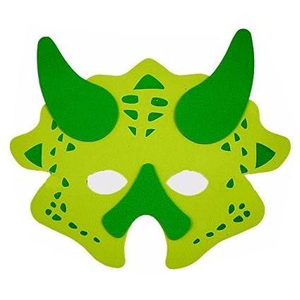 Dinosaurio espuma Máscaras Máscara de los niños juguetes 5 se envía (5 unidades)