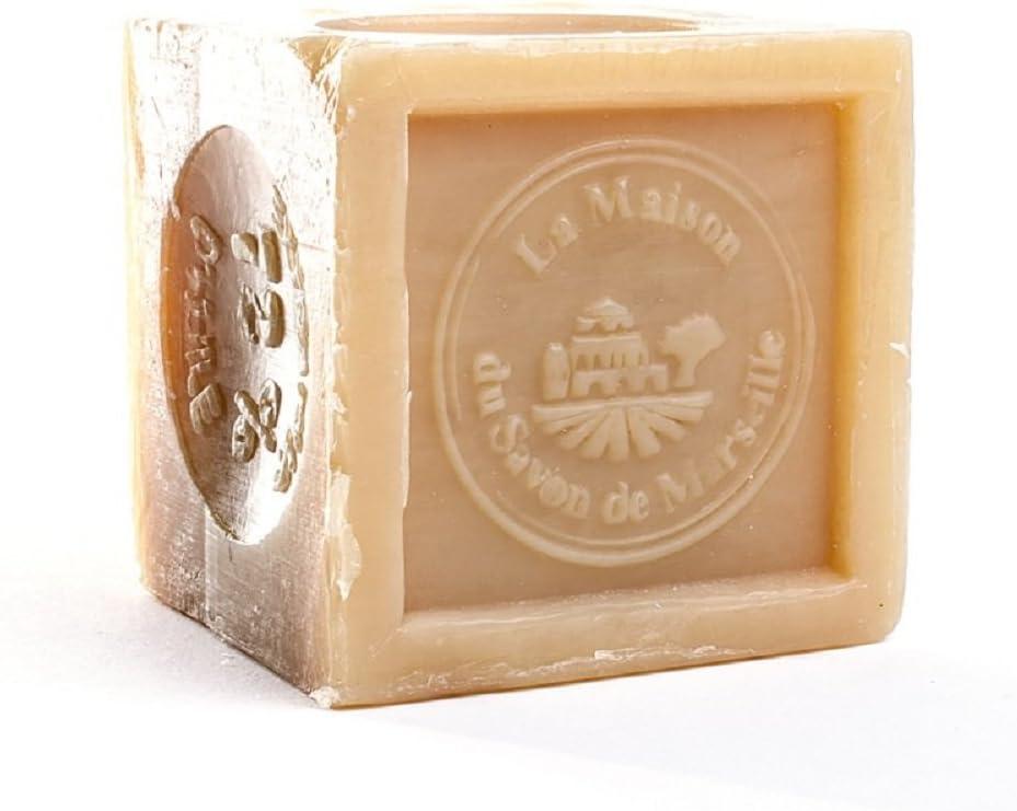 Soap cube 72% vegetable oil 300 g - La Maison du Savon de Marseille