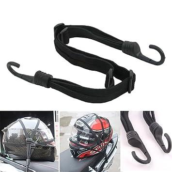 Pulpo o tensor elástico para moto o maleta, con gancho, 60 cm, red: Amazon.es: Coche y moto
