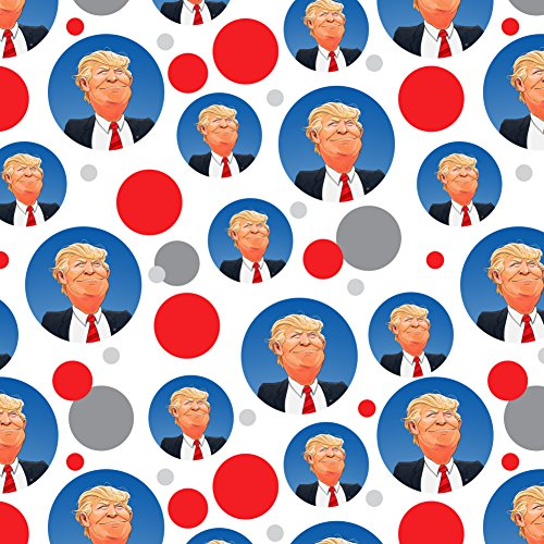 Happy Donald Trump Make America Great Premium Gift Wrap Wrapping Paper Roll