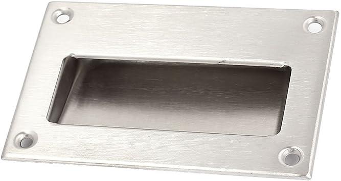 Tirador a ras - SODIAL(R) Tirador a ras de acero inoxidable empotrado manija de puerta corrediza: Amazon.es: Bricolaje y herramientas