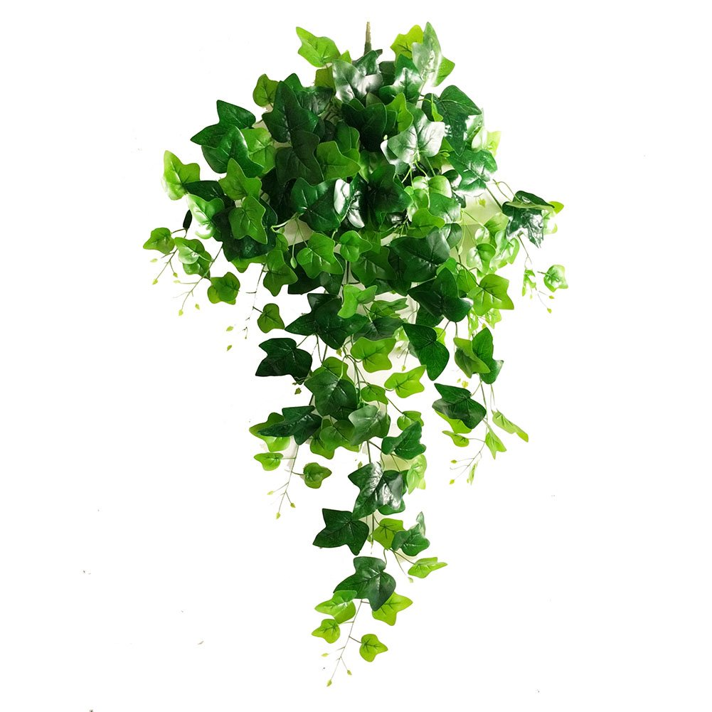 Rurality Artificial Wall Hanging Ivy Plants,Faux Plastic Plants Leaves for Home Decoration EPAI